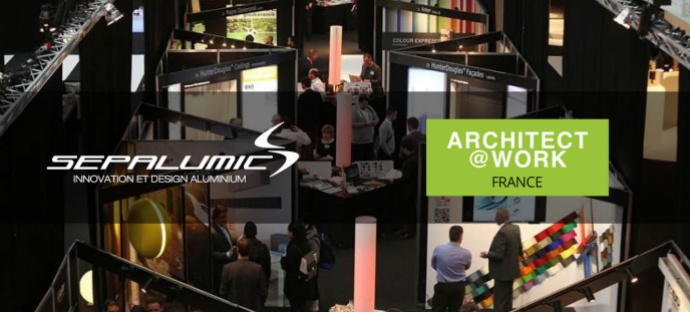 architectes salon paris architect@work sepalumic innovation aluminium fenetre