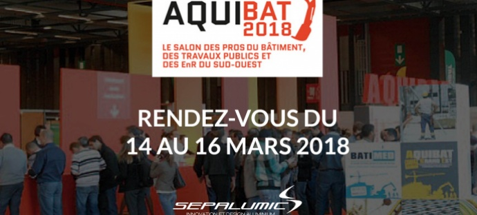 aquibat 2018 paris sepalumic project aluminium fenetre